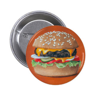 Hamburger Illustration buttons