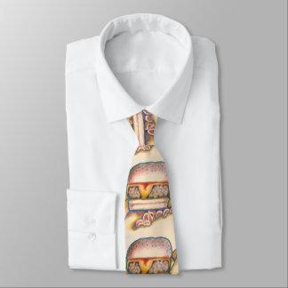 hamburger men's tie