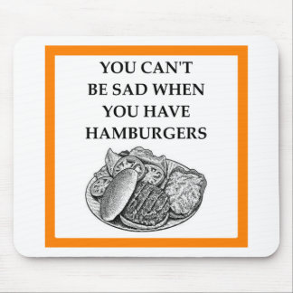 HAMBURGER MOUSE PAD