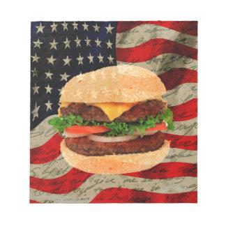 Hamburger Notepads