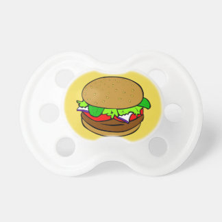Hamburger Pacifier