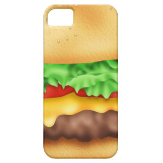 Hamburger with the lot! iPhone 5 covers