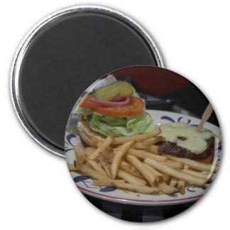 Hamburgers And Fries Magnet