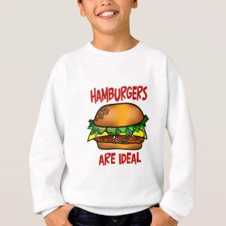 Hamburgers are Ideal Sweatshirt