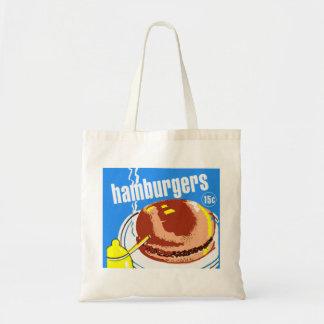 Hamburgers Cheeseburgers Vintage Kitsch Ad