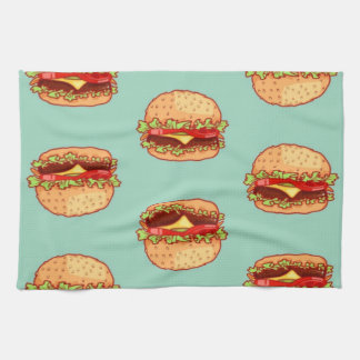 Hamburgers Kitchen Towel