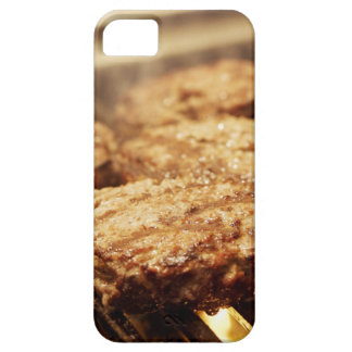 Hamburgers on the Grill iPhone 5 Cases