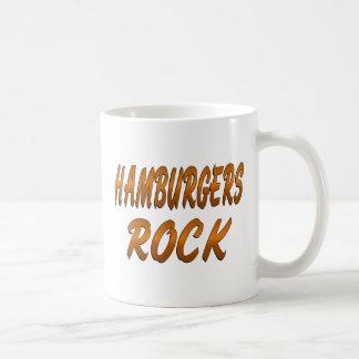 HAMBURGERS ROCK COFFEE MUG