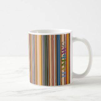HAMbWG 11 oz Mug - Colorful Bars