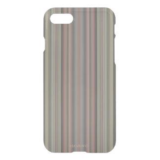 HAMbWG 6/6s Clearly™ Deflector Case - Mauve Stripe