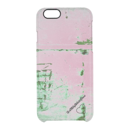 HAMbWG 6/6s Clearly™ Deflector Case - Pink Green