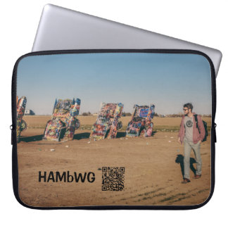 "HAMbWG - Auto Art - Neoprene 15"" Laptop Laptop Sleeve"
