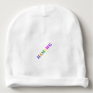 HAMbWG - Baby Beanie - Colorful Tilted HAMbWG Logo
