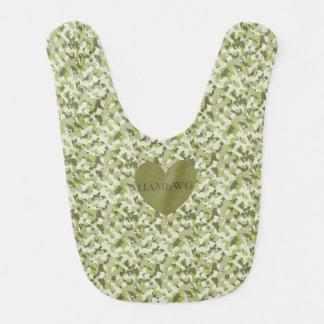 HAMbWG - Baby Bib - Green Camoflage