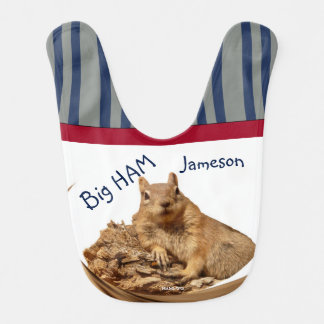 HAMbWG - Baby Bib -  HAMbWG Squirrel