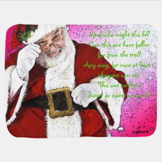HAMbWG - Baby Blanket - Santa Claus