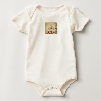 HAMbWG Baby - Boy's Organic - Original Ham Squirre Baby Bodysuit