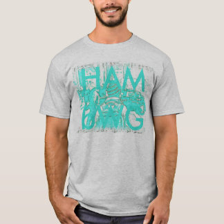 HAMbWG Basic American Apparel T-Shirt - BP Aqua