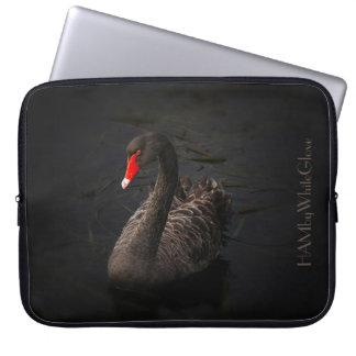 HAMbWG - Black Swan Neoprene Laptop Sleeve