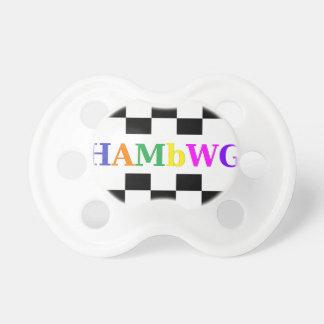 HAMbWG - BooginHead® Pacifier - Checker