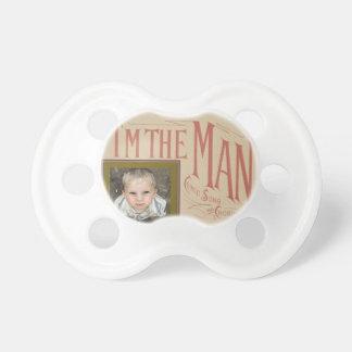 HAMbWG - BooginHead® Pacifier - I'm the Man