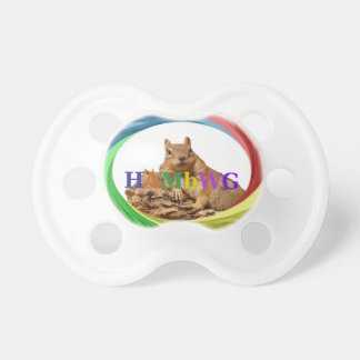 HAMbWG - BooginHead® Pacifier - Squirrel Primary