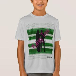 HAMbWG - Boy's  T Shirt -  Hang Ten