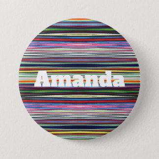 HAMbWG - Button - Multi Colour w Name