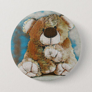 HAMbWG - Button - Teddy Bear
