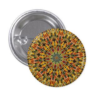 HAMbWG - Button - Yellow Psychadelic