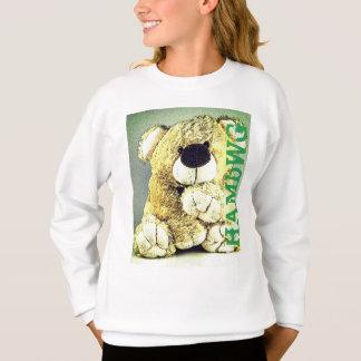 HAMbWG - Children's  Sweashirt  - Teddy Bear Sweatshirt