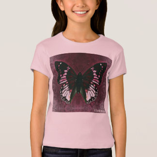 HAMbWG - Children's  T Shirt - Cherry  Butterfly
