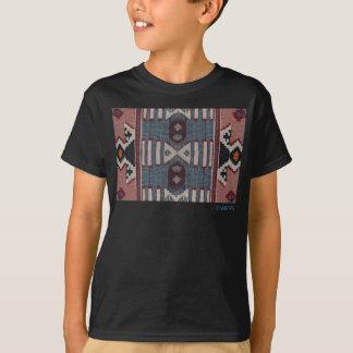 HAMbWG - Children's  T Shirt - Hipster Red Blue Bg