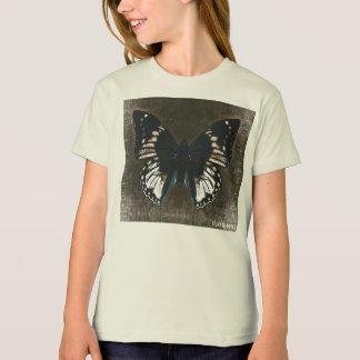 HAMbWG - Children's  T Shirt - Loden Butterfly