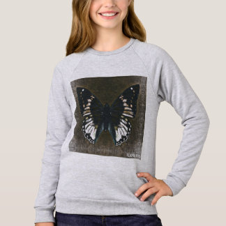 HAMbWG - Children's  T Shirt - Loden Butterfly