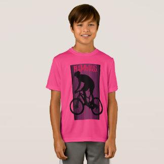 HAMbWG - Children's  T Shirt -  Pink Bike Rider