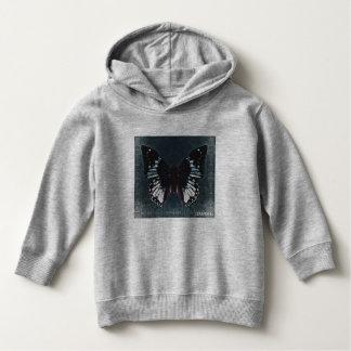 HAMbWG - Children's  T Shirt - Teal Blue Butterfly
