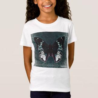 HAMbWG - Children's  T Shirt - Teal Butterfly