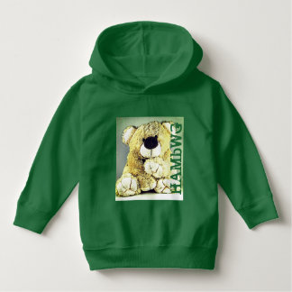 HAMbWG - Children's  T Shirt - Teddy Bear in Green