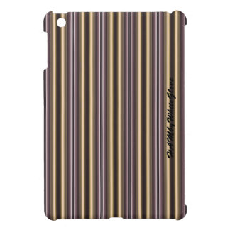 HAMbWG -Computer Tablet Cases - Art Nouveau Stripe Cover For The iPad Mini