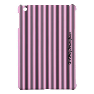 HAMbWG -Computer Tablet Cases - Pink & Black Neon iPad Mini Cover