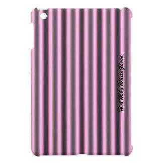 HAMbWG -Computer Tablet Cases - Pink & Black Neon iPad Mini Covers