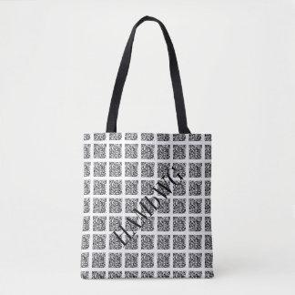 HAMbWG Cross Body Bag or Tote - QR Code 64 #2