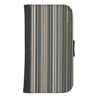 HAMbWG Design  Phone Wallet Case - Diamond Stripes