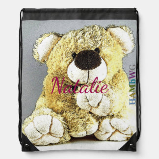 HAMbWG  Drawstring Bag - Giant Teddy Bear