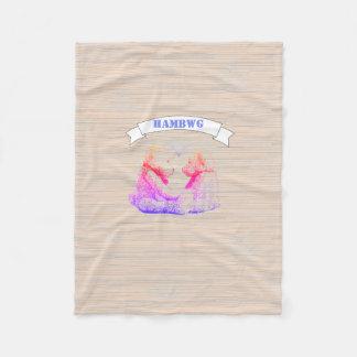 HAMbWG - Fleece Blanket - Teddy Bear