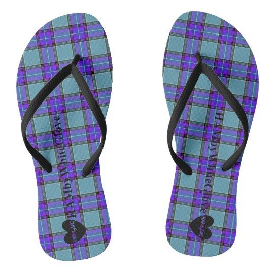 HAMbWG -  Flip-Flop - Blue Violet Flip Flops