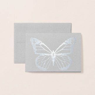 HAMbWG -  Foil Card - Butterfly Mini Note Card