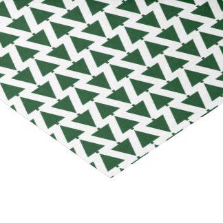 HAMbWG -Gift Tissue - Green Christmas Trees Tissue Paper