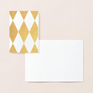 HAMbWG - Gold Foil Card -  Argyle